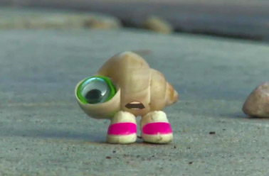 Marcel the Shell, three