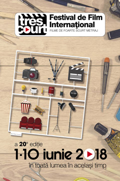 Très Courts 20th edition poster