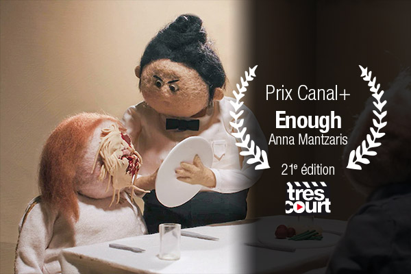 Prix Canal+ 21e edition: Enough